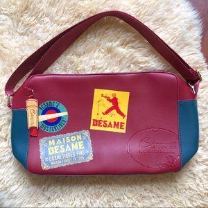 Besame Cosmetics   Anniversary Messenger Bag